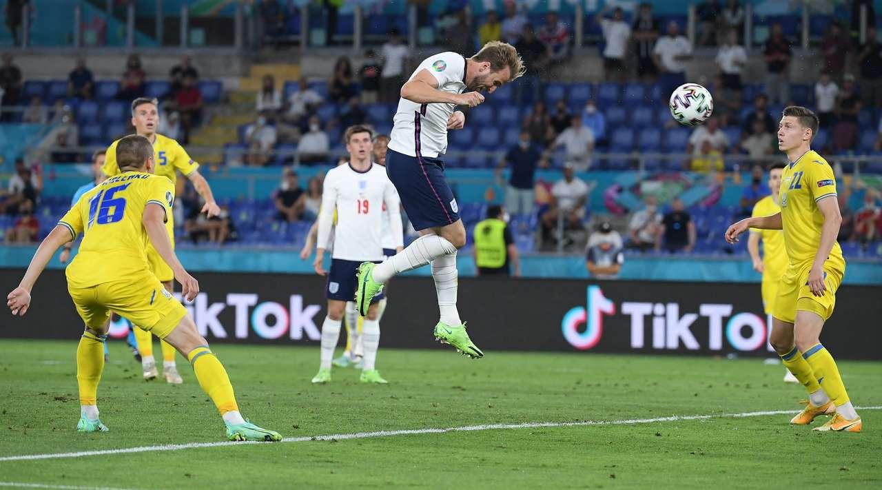 Сборная Англии переиграла сборную Украины и прошла в полуфинал чемпионата Европы