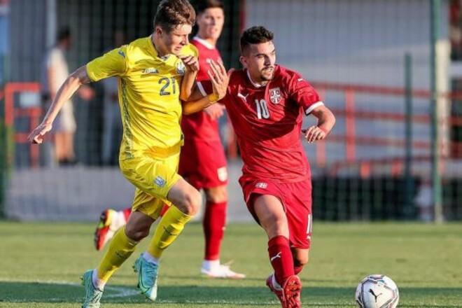 Молодежная сборная Украины по футболу обыграла сборную Сербии в отборе ЧЕ-2023
