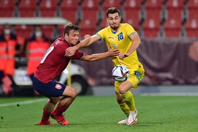 Украина упустила победу на последних минутах товарищеского матча против Чехии