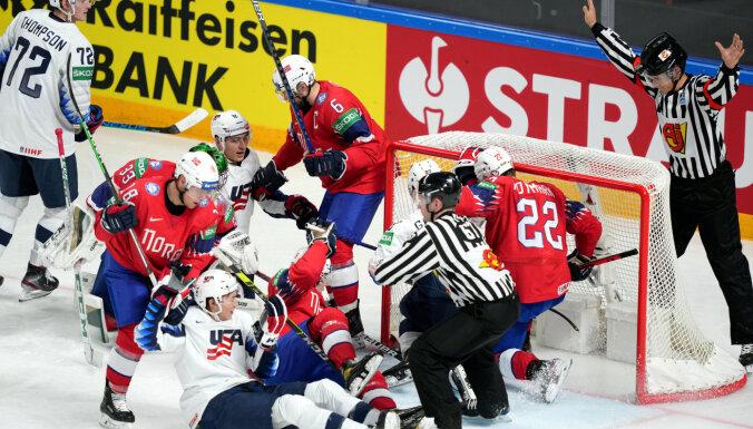 Сборные Финляндии и США обыграли своих соперников на ЧМ-2021 по хоккею