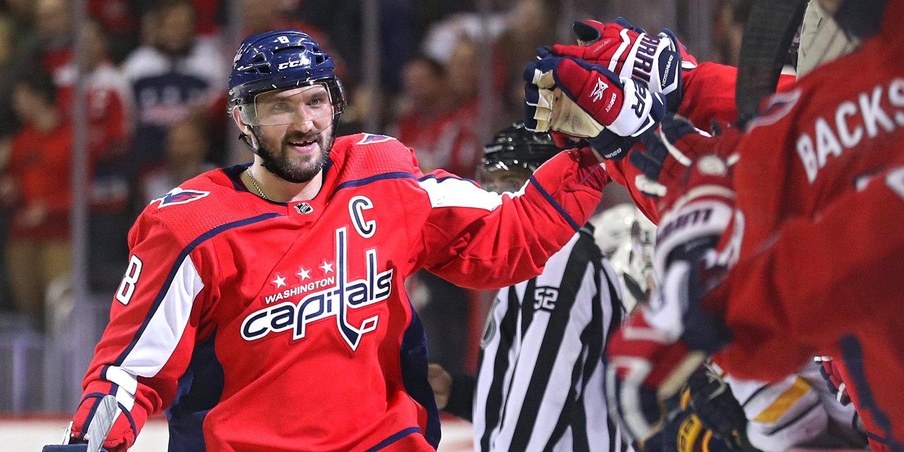 """Капитан """"Вашингтон Кэпиталз"""" Овечкин вернулся на лёд с новыми силами"""