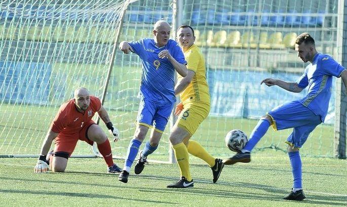 Сборная спортивных журналистов Украины обыграла сборную УАФ