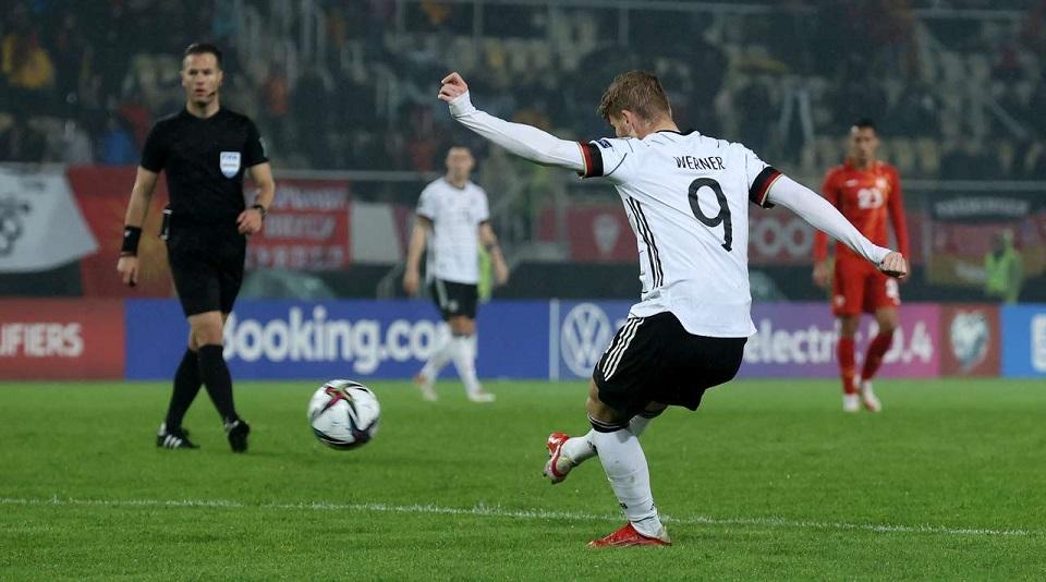 Германия гарантировала себе выход в финальную часть ЧМ-2022 благодаря победе над Северной Македонией