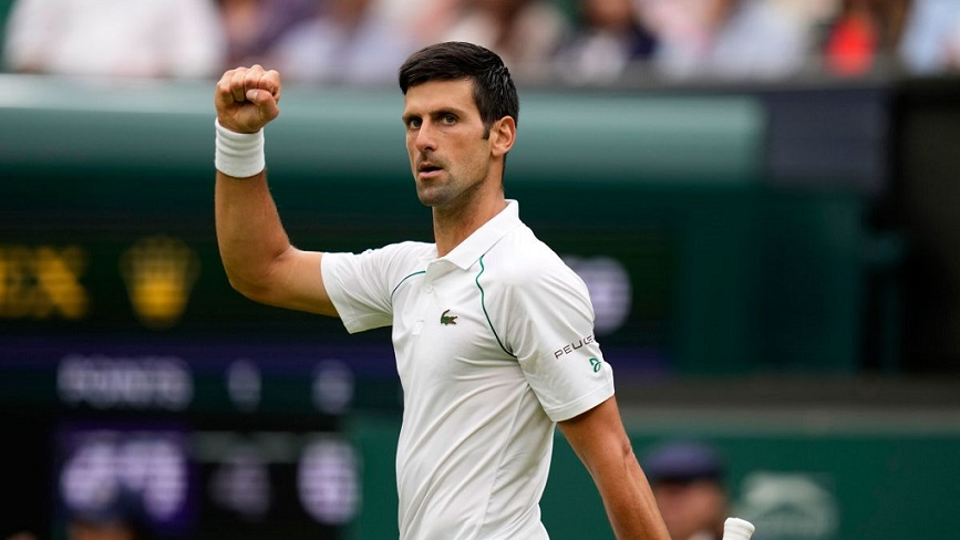 Новак Джокович в шестой раз победил на теннисном турнире серии «Wimbledon»