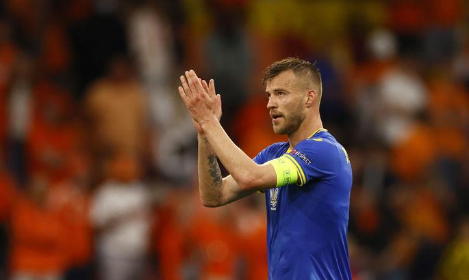 Андрей Ярмоленко решил как поступит с полученными призовыми выплатами за Евро-2020
