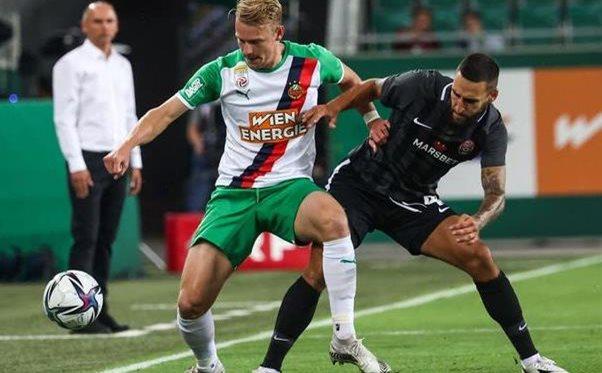 «Заря» проиграла австрийскому «Рапиду» и не прошла в групповой этап Лиги Европы