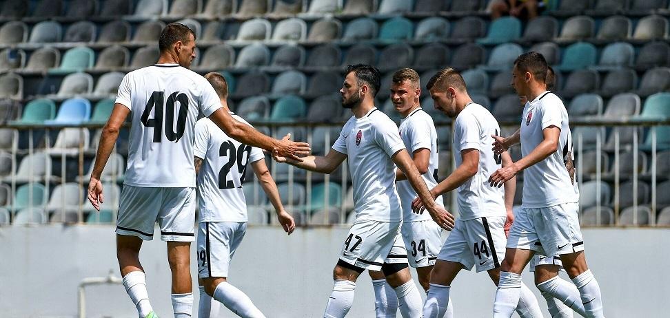 В контрольном матче с «Макуспором» футболисты «Зари» забили 22 гола