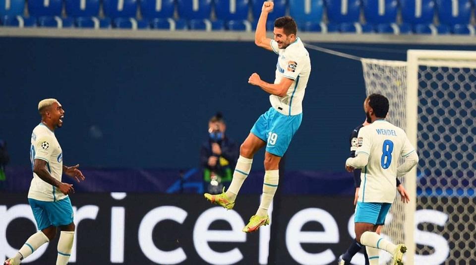 «Зенит» разгромил «Мальмё» и добыл первую победу в групповом этапе Лиги чемпионов